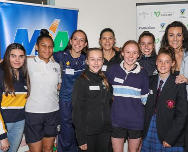 Cricket Victoria delveoping young leaders through Girls Leadership Program