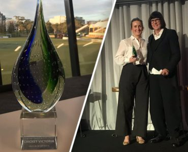 Cricket Victoria wins back-to-back Pride in Sport awards