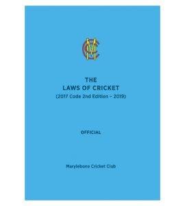 The Laws of Cricket Book (2019)