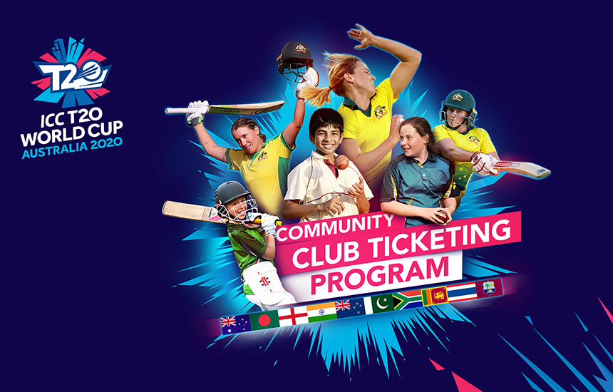 ICC T20 World Cup 2020 launches fundraising initiative for community cricket clubs