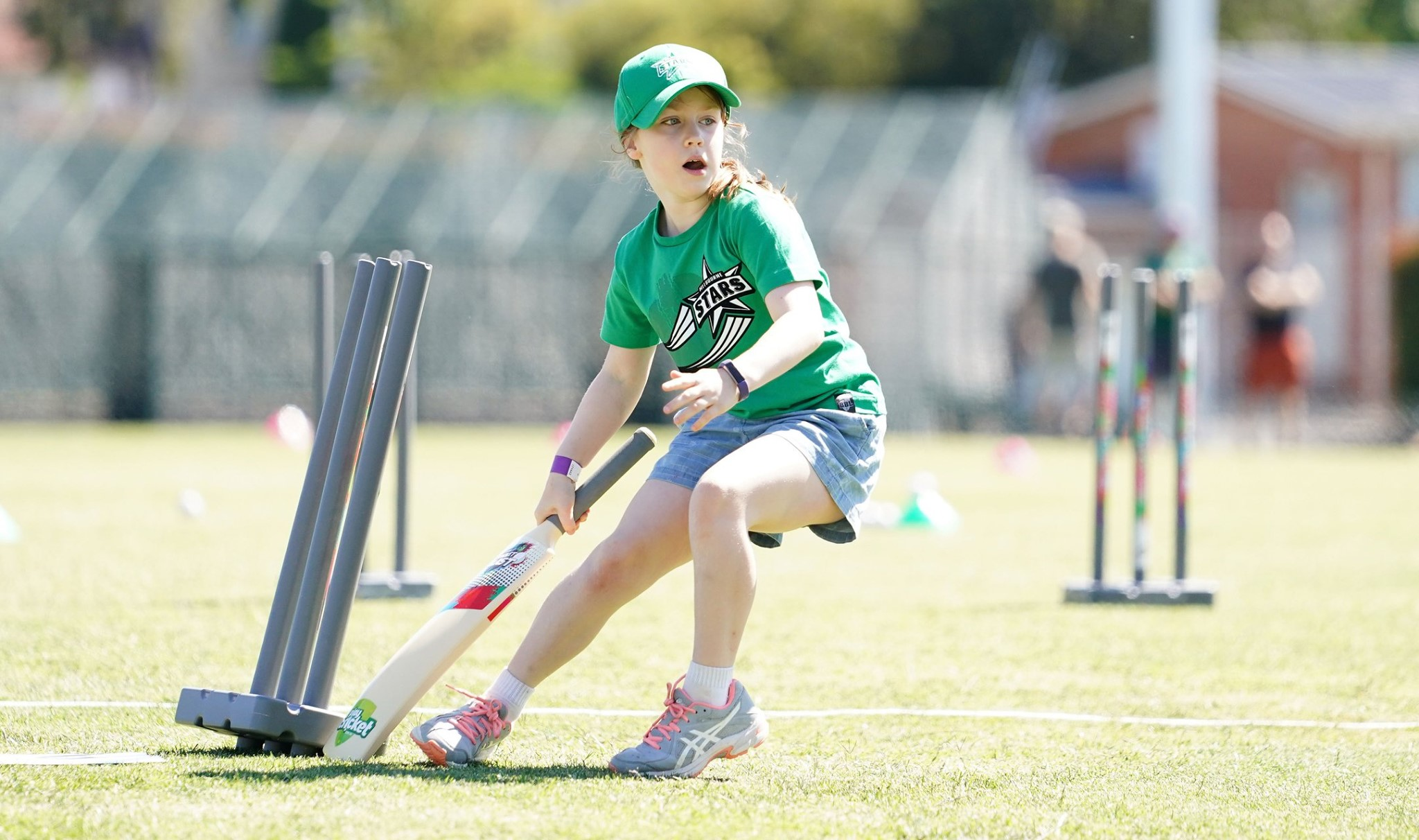 Inspiring girls to get involved in cricket