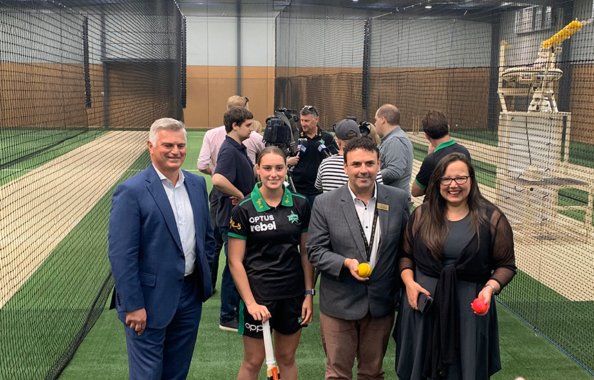 New Gippsland regional cricket hub opened in Moe
