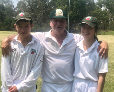 Harveys keeping cricket in the family