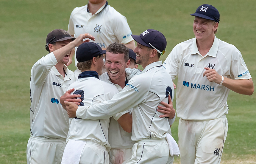 Victoria topple New South Wales to claim first Shield win