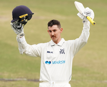 Maddinson crowned joint Marsh Sheffield Shield Player of the Year