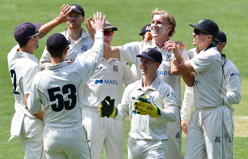 Three straight wins for Victoria as Shield hopes remain alive