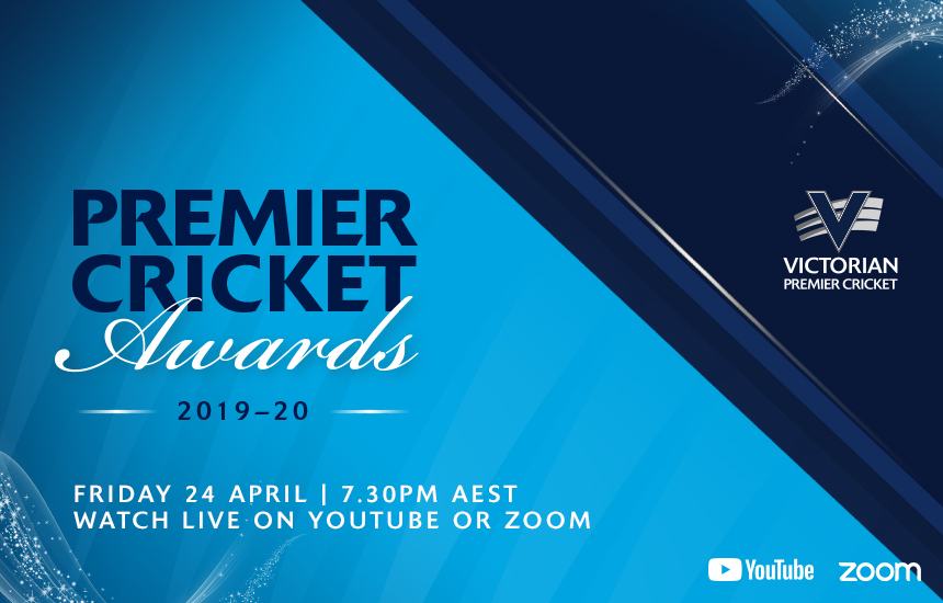 2019-20 Victorian Premier Cricket Awards to be live streamed