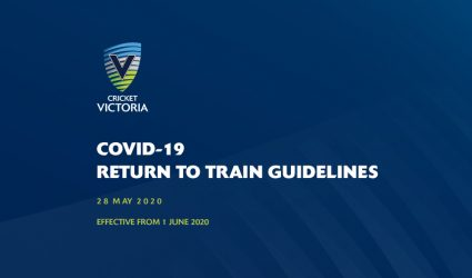 COVID-19 Return to Train Guidelines - 1 June 2020