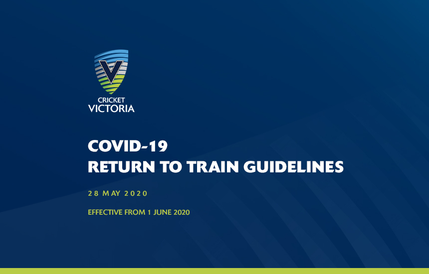 COVID-19 Return to Train Guidelines – 1 June 2020