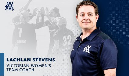 Lachlan Stevens appointed Head Coach of the Victorian Women's Team