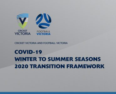 Cricket Victoria and Football Victoria establish framework for upcoming season