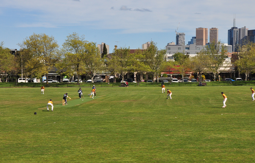 Community cricketers receive much needed government boost