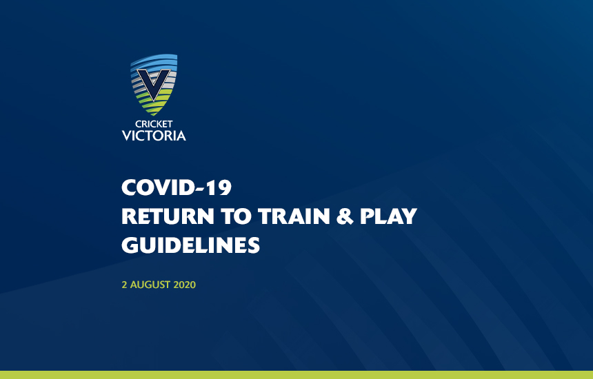 COVID-19 Return To Train & Play Guidelines – 2 August 2020