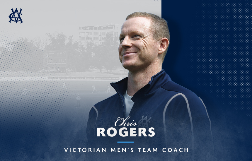 Chris Rogers appointed Victorian Men's Team Head Coach