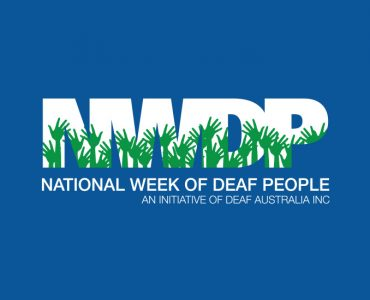 National Week of Deaf People, 19 – 25 September 2020