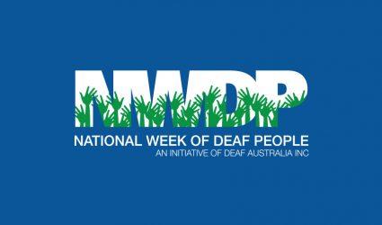 National Week of Deaf People, 19 – 25 September 2020