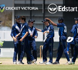 Cricket Victoria launches new partnership with Edstart