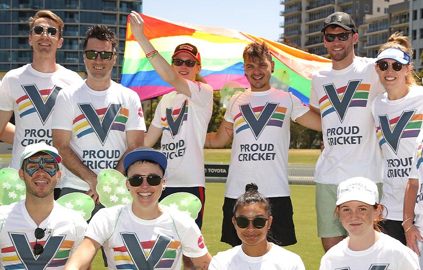 Cricket Victoria's Rainbow Advisory Committee
