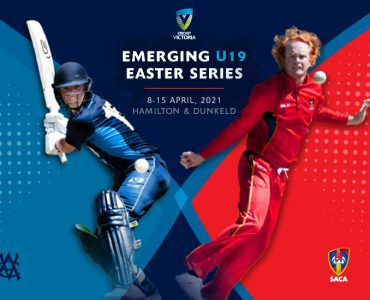 Emerging U19 Easter Series – 8-15 April, 2021