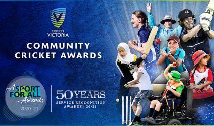 Cricket Victoria celebrates Community Cricket Awards winners