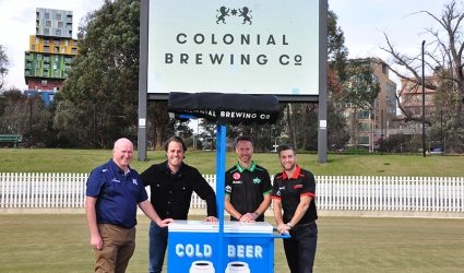 Colonial Brewing Co. enters new partnership with Cricket Victoria