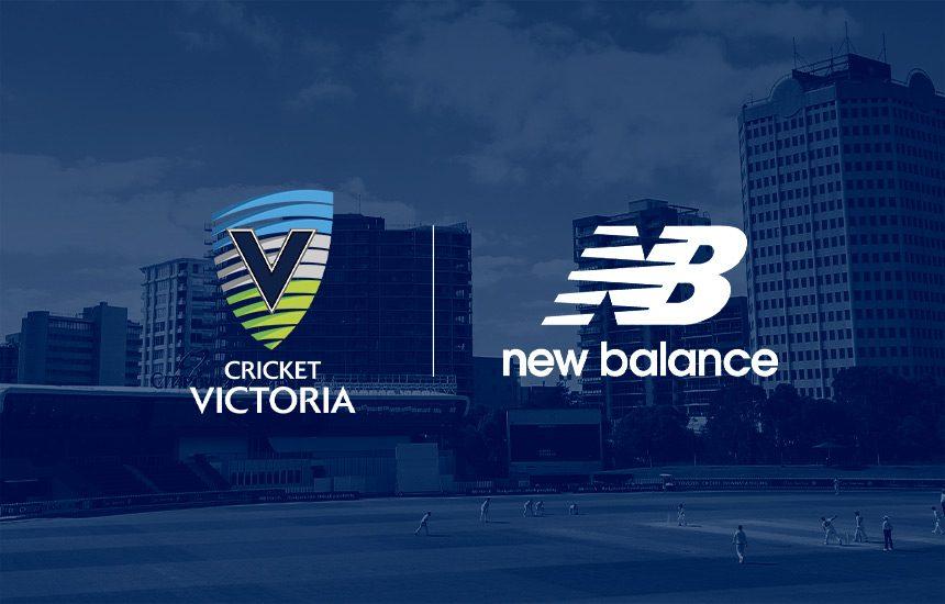 Cricket Victoria and New Balance launch partnership
