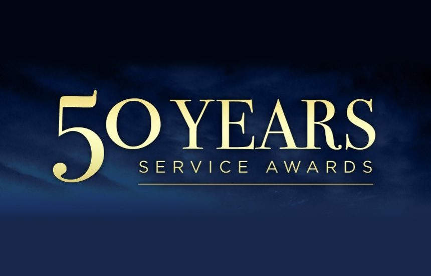 2021-22 50 Year Service Award nominations now open
